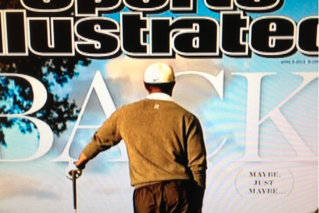 Tiger Woods 'Back' on Cover of Sports Illustrated