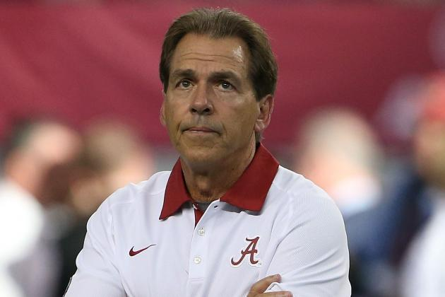 Nick Saban on Bret Bielema's Comments: 'I Really Don't Have Any Reaction to It'