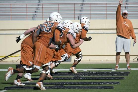 Texas Football Spring Practice: Everything You Need to Know About the OL