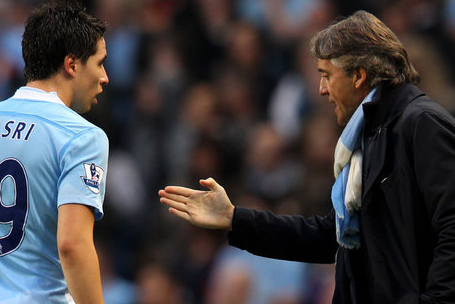 Nasri Admits Shock at Manchester City Boss Roberto Mancinis Attack on Him