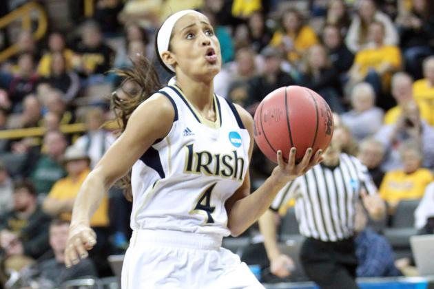 Notre Dame's Diggins Joins Baylor's Griner on AP All-America Team