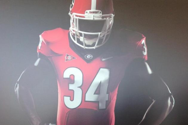 Georgia Football Gets New Look as School Introduces New Brand Identity System