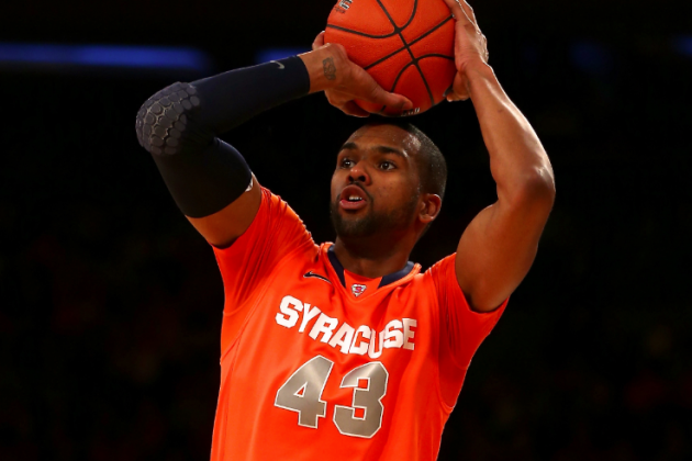 Syracuse Basketball: Championship Berth Rides on James Southerland's Production