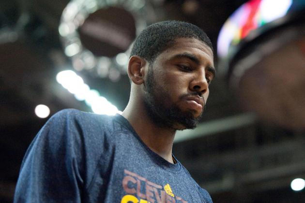Kyrie Irving Sits, Won't Play Back-to-Backs for Now