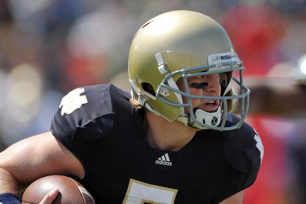 Ex-Irish QB Kiel Visits Cincy, Mulling Others