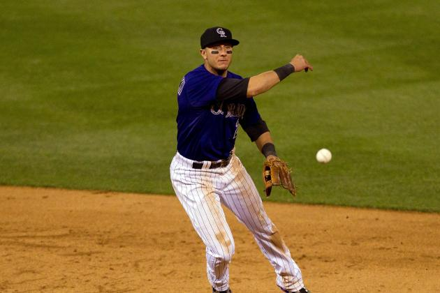 Rockies' Troy Tulowitzki Plays Well in First Game Since May 2012