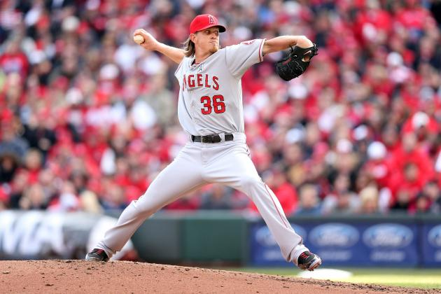 Angels' Jered Weaver Isn't Setting Any Speed Traps