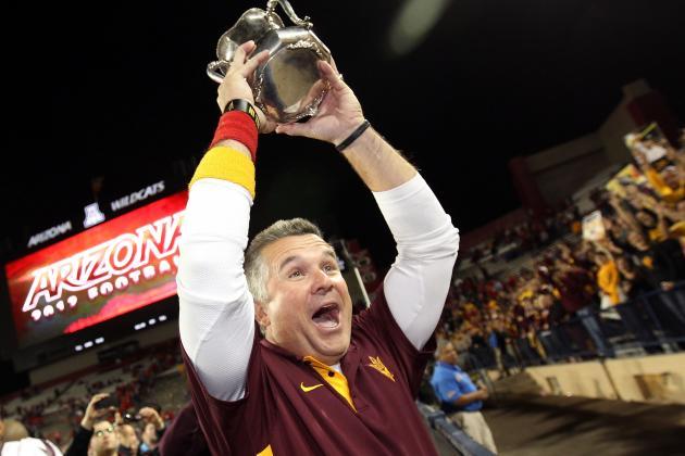 ASU Coach Todd Graham: Man Cave