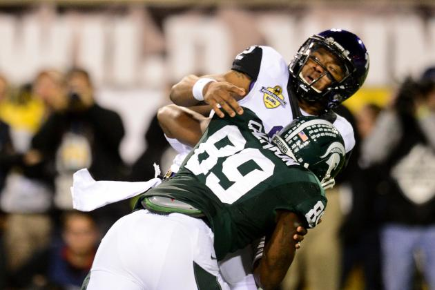 Michigan State Defensive End Shilique Calhoun: 'I Want to Be the Best'