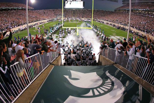 MSU Football Openers on Fridays Becoming a Tradition at Spartan Stadium
