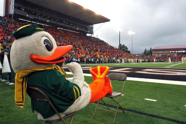Oregon Ducks: April Fool's Joke Involving Mandrake/Roboduck