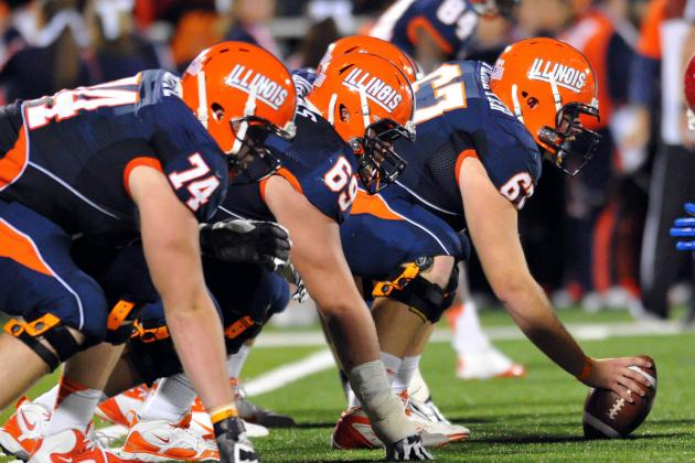 Illini Offensive Line Adjusting to Cubits Up-Tempo Pace