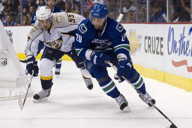 Vancouver Canucks Sign Chris Higgins to 4-Year, $10M Extension