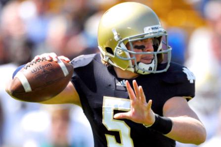 Multiple SEC Schools Have Reportedly Contacted Ex Notre Dame QB Gunner Kiel