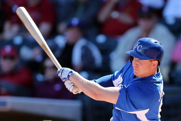 Johnson Giving Royals' Multiple Lineup Options