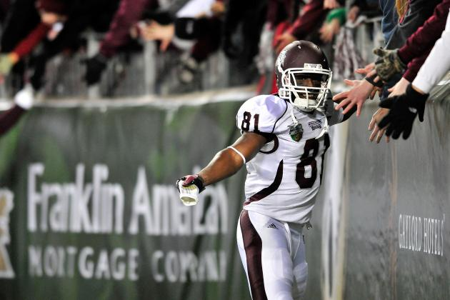 Mississippi State Receiver Johnson Wastes No Time Getting to Know New Coach