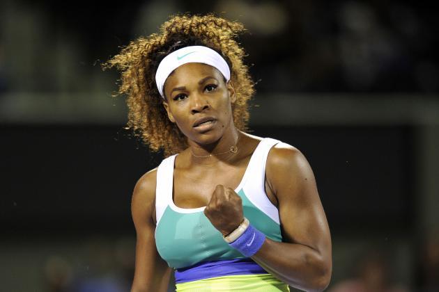 Serena Stays Hot in Charleston Opener