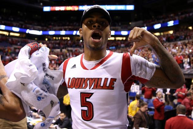 Louisville's Kevin Ware Will Be Just Fine After Getting New Puppy Named 'Scar'