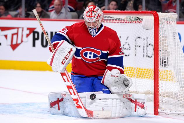 Habs' Price Wears Heart Monitor During Games
