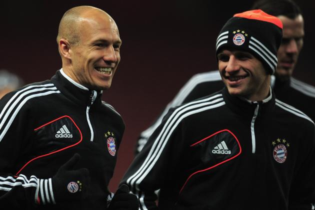 Bayern Munich 2-0 Juventus: Robben Torments Juve's Left, Vucinic Sorely Missed