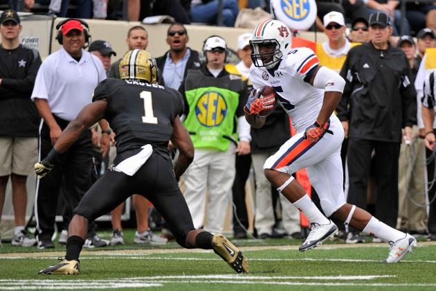 Ricardo Louis Wants to Be Another First-Year Success Story in Malzahn's Offense