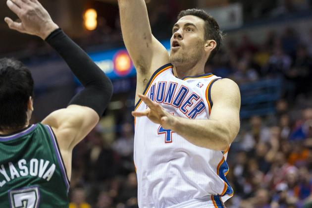Nick Collison Shores Up OKC Thunder's Second Unit