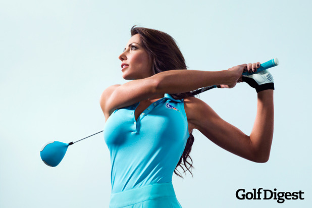 Golf Channel's Holly Sonders Will Dominate Cover of Golf Digest Fitness Issue