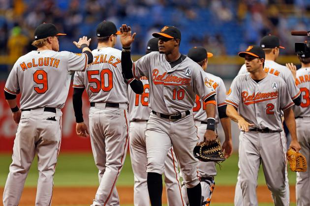 Jones Keys 5-Run Rally as O's Take Opener over Rays