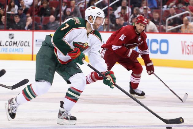 Minnesota Wild: Injured Matt Cullen Won't Make West Coast Trip
