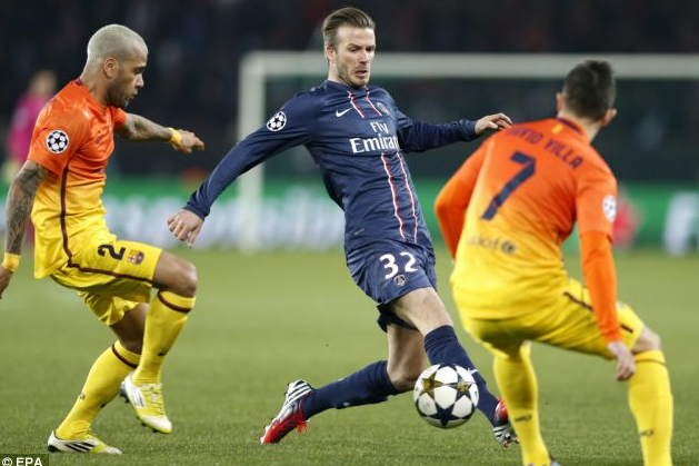 Beckham Believes Semi-Finals Are Doable for PSG