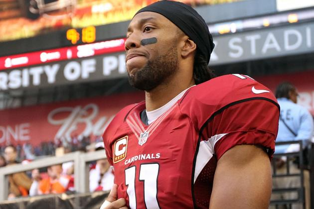"Larry Fitzgerald Calls 2012 ""most Disappointing Season of My Career"""
