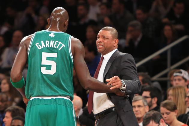 Doc Says Garnett Has a Bone Spur