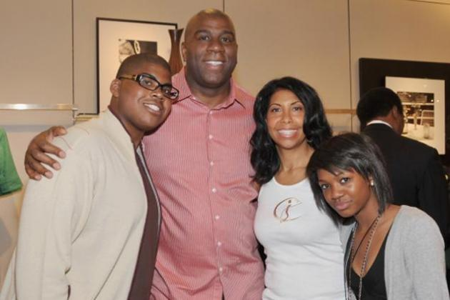 Magic Johnson 'Very Proud' of Son After Coming Out