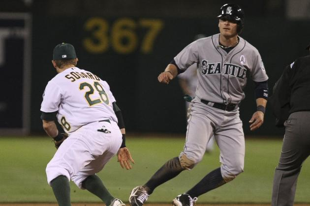 Mariners Beat A's 7-1