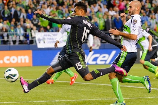 Seattle Sounders FC vs Santos Laguna 04-03-2013 - Recap