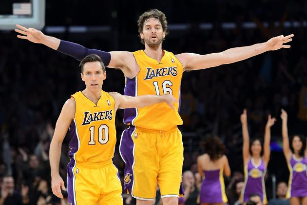 Why Pau Gasol Is Steve Nash's Ideal Pick-and-Roll Partner for LA Lakers
