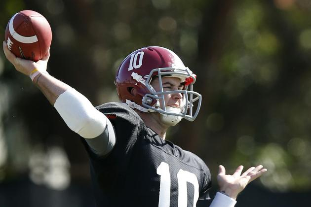 McCarron Happy to Have an Old Friend on Alabama Staff