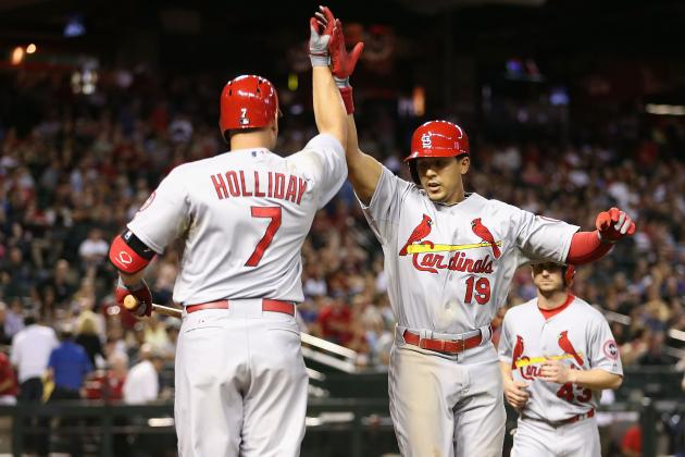 Holliday, St. Louis bounce back vs. D-backs