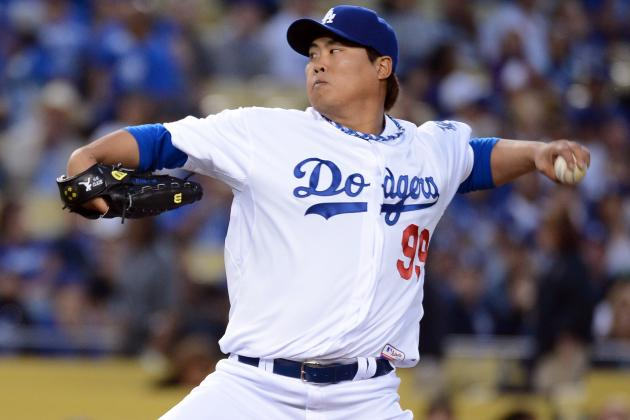 Dodgers' Lefty Hyun-Jin Ryu Solid but Unspectacular in MLB Debut
