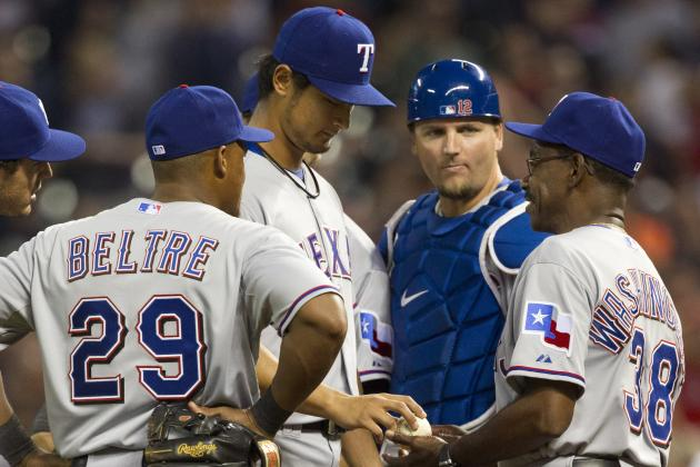 Rangers React to Darvish's Near Perfection