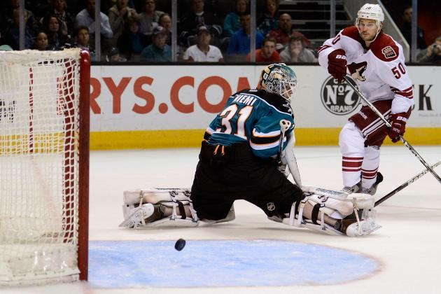 Strong Effort Against LA May Be Too Little, Too Late for Phoenix Coyotes