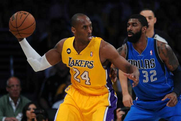 Los Angeles Lakers Need 'Point Guard' Kobe Bryant to Show for NBA Playoffs