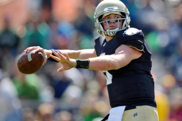 Former Notre Dame QB Gunner Kiel Should Seriously Consider Ole Miss