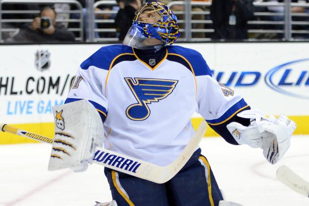 Report: Halak Expected to Miss 3 Weeks