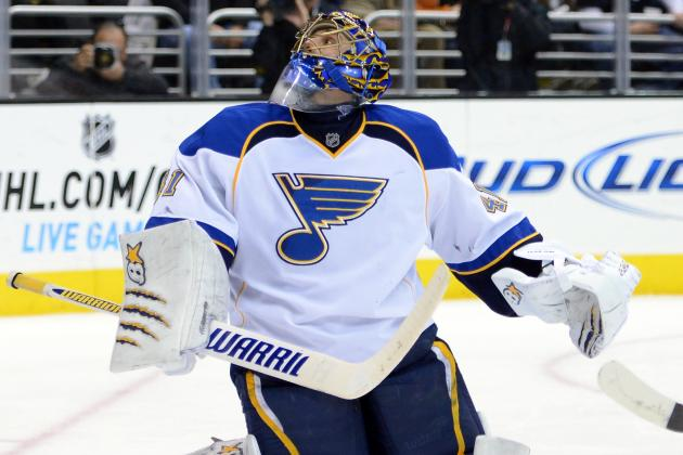 Report: Halak Could Miss More Than Three Weeks