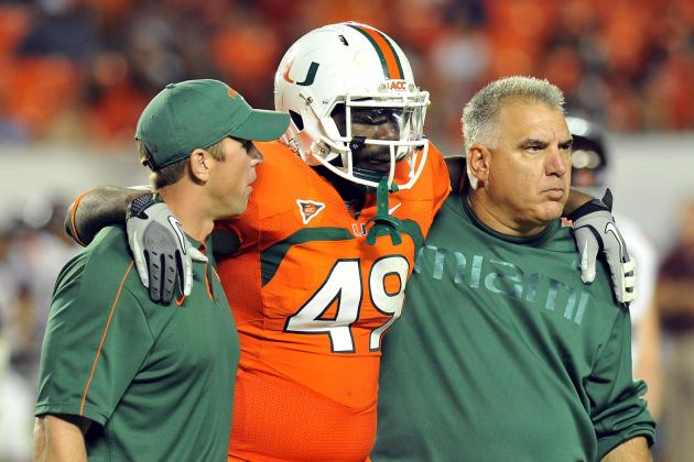 Miami's Dyron Dye out Indefinitely After Achilles Surgery