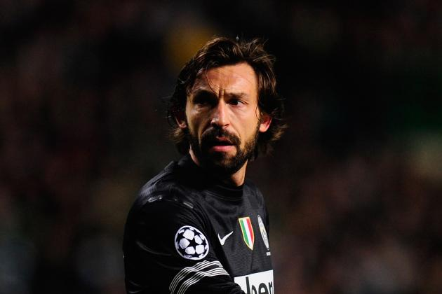 Juve's Pirlo Apologizes for Bayern Flop