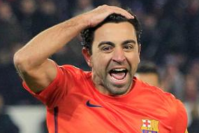 Barcelona Explain Xavi Celebration