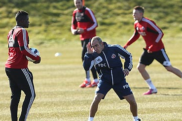Paolo Di Canio Puts Aside Fascism Storm to Take Sunderland Training