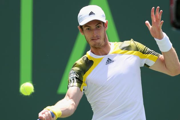 Andy Murray Prepares for Clay Court Tennis